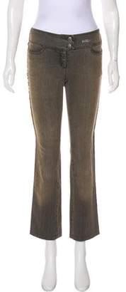 Philosophy di Alberta Ferretti Low-Rise Straight-Leg Jeans