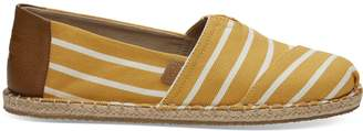 Toms Sunflower Blanket Stitch Riviera Stripe Men's Classics