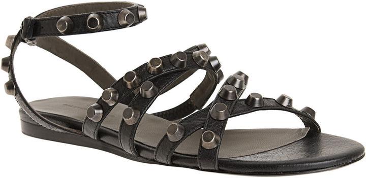 Balenciaga Studded Gladiator Sandal