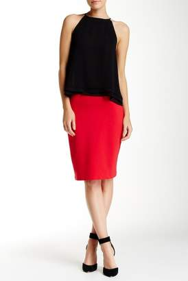 Philosophy Apparel Solid Ponte Pencil Skirt $58 thestylecure.com