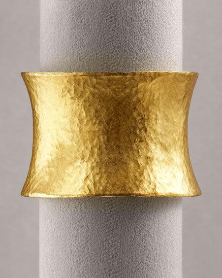 Yossi Harari 24K Gold Corset Cuff