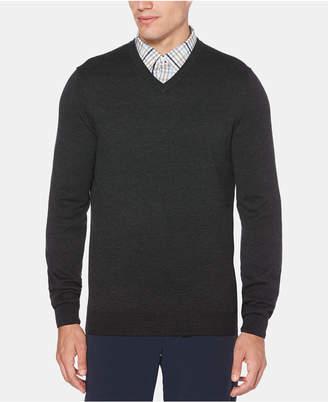 Perry Ellis Men's V-Neck Long-Sleeve Sweater
