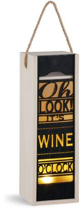Demdaco Wine O'Clock Lantern