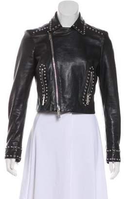 DSQUARED2 2017 Leather Studded Jacket