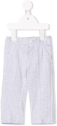 Il Gufo seersucker trousers