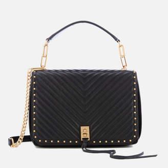 Rebecca Minkoff Women's Medium Becky Shoulder Bag - Black