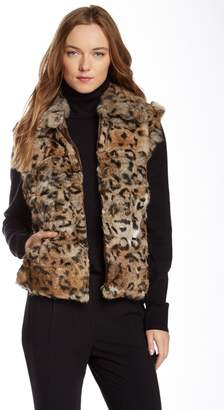 Surell Genuine Rabbit Fur Vest
