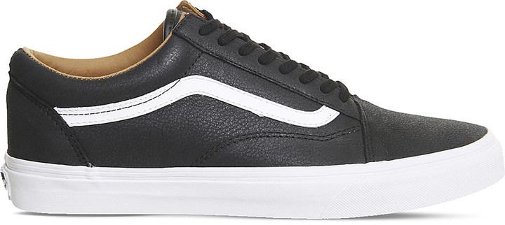 Mens Vans Leather Shoes - ShopStyle Australia