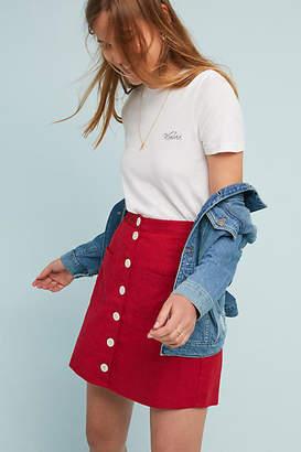 Rue Stiic Amal Buttoned Mini Skirt