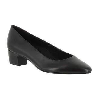 Easy Street Shoes Womens Prim Pumps Slip-on Round Toe Block Heel