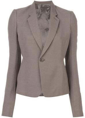 Rick Owens single breasted blazer