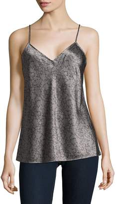 Vince Women's Printed V-Neck Camisole