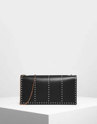 Charles & Keith Gem Encrusted Clutch
