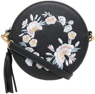 Miss Shop Round Embroidered Bag EBG10041EMB