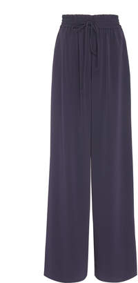 Co Stretch Crepe Wide Leg Pant