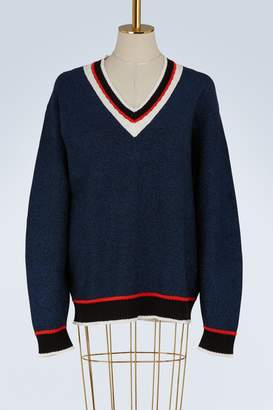 Opening Ceremony V-neck sweater