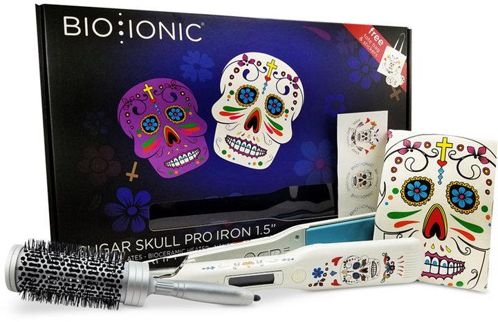 "Bio IonicBio Ionic Sugar Skull 1.5"" Flat Iron"