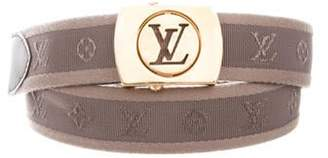 Louis Vuitton Monogram Fortune Belt Grey Monogram Fortune Belt