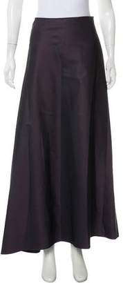 Calvin Klein Collection A-Line Maxi Skirt