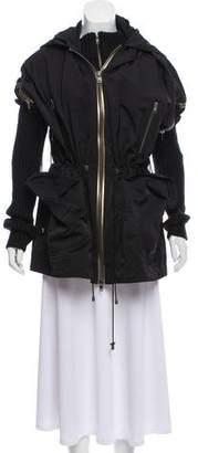 Hoss Intropia Layered Hooded Coat