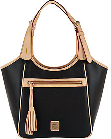 Dooney & Bourke Saffiano Leather Shoulder Bag- Maddie $199.90 thestylecure.com