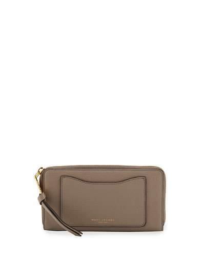 Marc JacobsMarc Jacobs Recruit Leather Continental Zip Wallet