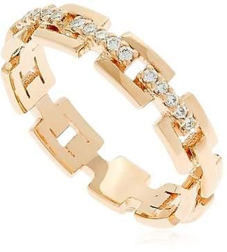 Strand Gold & Diamond Ring