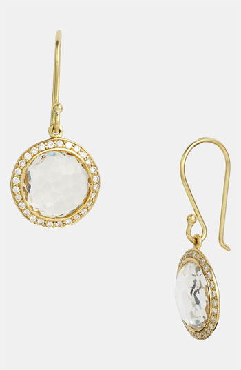 Ippolita 'Rock Candy - Mini Lollipop' Diamond & 18k Gold Earrings