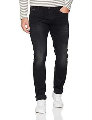 Le Temps Des Cerises Men's JH711BASWA214 Slim Jeans, Bleu Black 0403, W38/L34