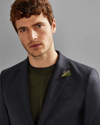 Ted Baker TENNANT Checked wool jacket
