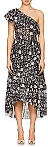 Ulla Johnson Women's Clemente Cotton-Silk Organza Dress - Black