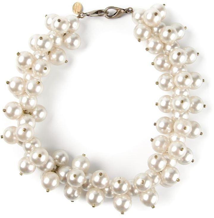 Azzaro Vintage pearl necklace