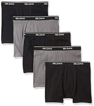 Gildan Platinum Men's 5-Pack Short Leg Boxer Brief