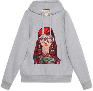 Gucci Unskilled Worker hooded sweatshirt