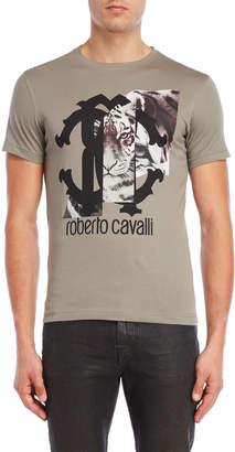 Roberto Cavalli Tiger Frames Tee