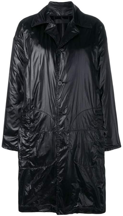 plain car coat