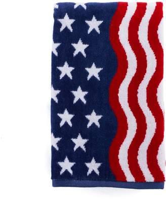 Celebrate Americana Together Wavy Flag Hand Towel