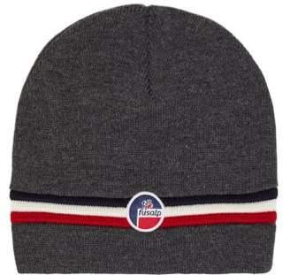 72c5d6638d27a Fusalp - Wengen Ii Ribbed Wool Hat - Mens - Grey