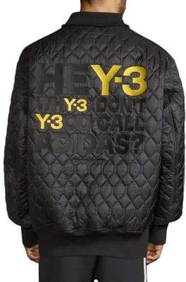 Y-3 Oversized Reversible Bomber Jacket
