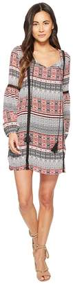 BB Dakota Colbie Tapastry Stripe Printed Dress Women's Dress