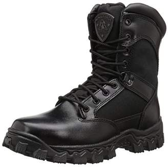 "Rocky Duty Men's Alpha Force 8"" Zipper Boot"