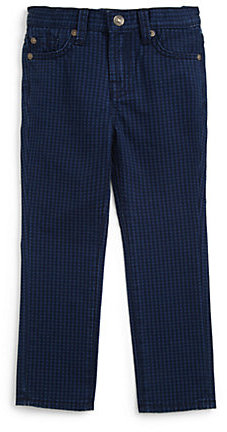 7 For All Mankind Toddler's & Little Boy's The Straight Houndstooth Jeans