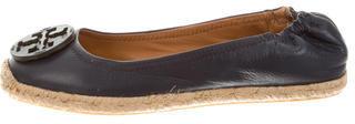 Tory BurchTory Burch Leather Espadrille Flats