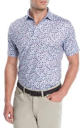 Peter Millar Men's Beer Print Polo Shirt