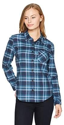 Pendleton Women's Petite Size Boyfriend Flannel Shirt