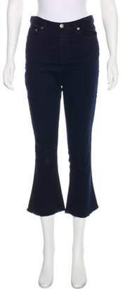 N. Nicholas Mid-Rise Straight-Leg Jeans