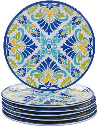 Certified International Martinique Salad Plates, Set of 6
