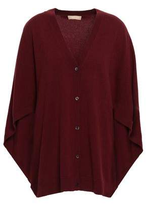 Michael Kors Cape-effect Cashmere Cardigan