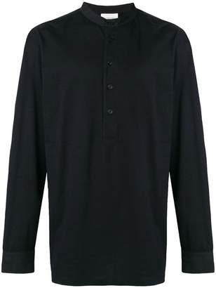 Lemaire mandarin neck shirt