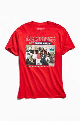 Urban Outfitters The Office Happy Holidays Tee